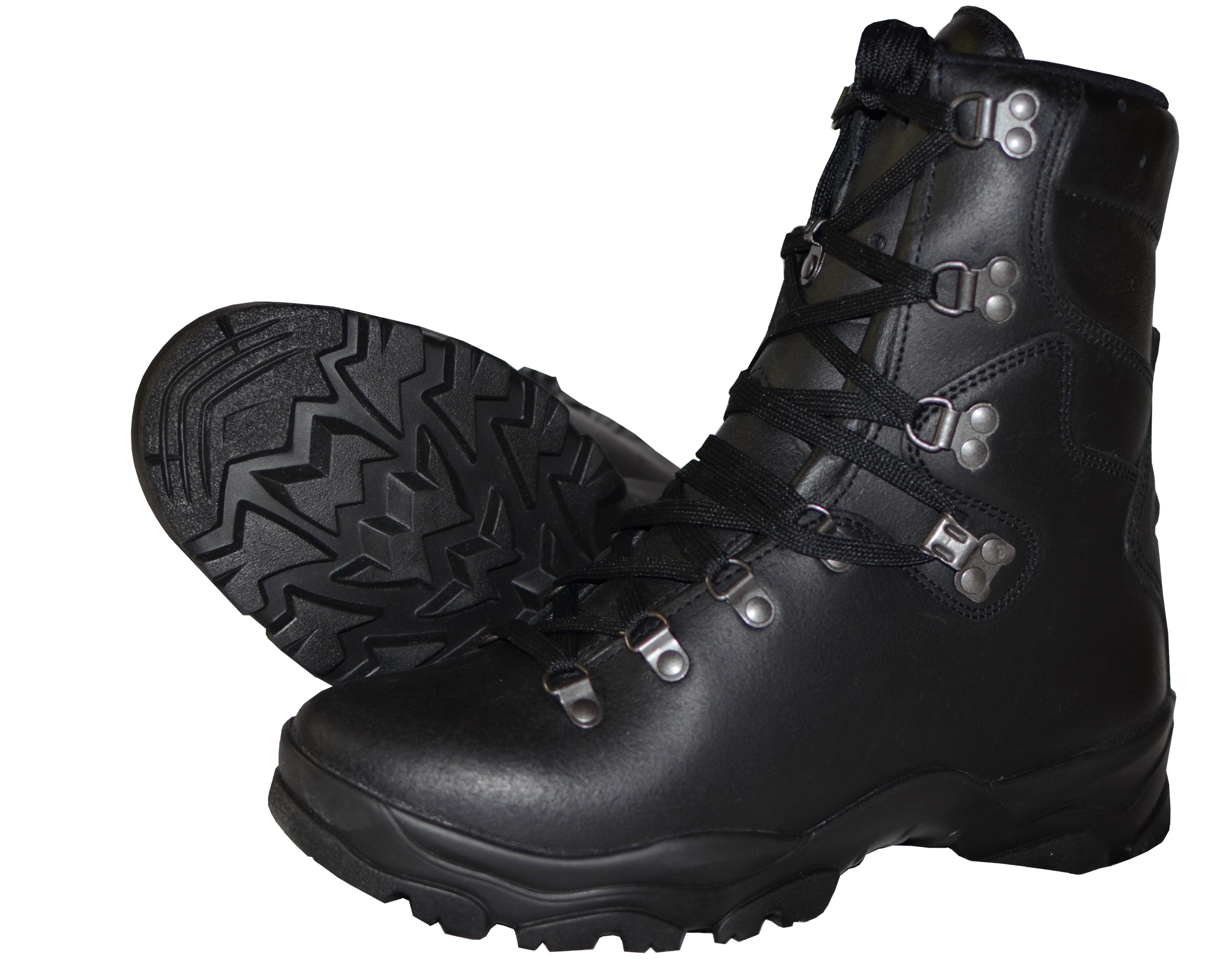 Boty Francie černé Gore Tex Combat d7f51a5a98